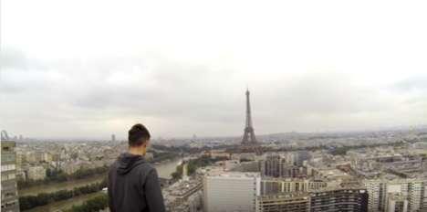Drone-Filmed Free Climbs