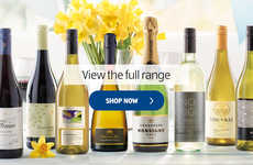Wine Delivery Services - Aldi Offers Inexpensive Wines Online in the United Kingdom