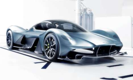Co-Branded Hypercars - Aston Martin and Red Bull are Making the World's Fastest Production Vehicle