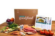 Canadian Meal Subscriptions - 'Goodfood' Delivers Healthy Meals Made with Local Ingredients