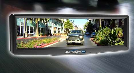 Dynamic Rear View Mirrors - This Digital Technology Can Replace Traditional Rear View Mirrors
