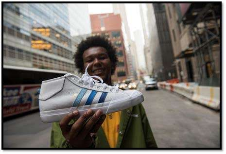 adidas Skateboarding Collaborated with Na-kel Smith