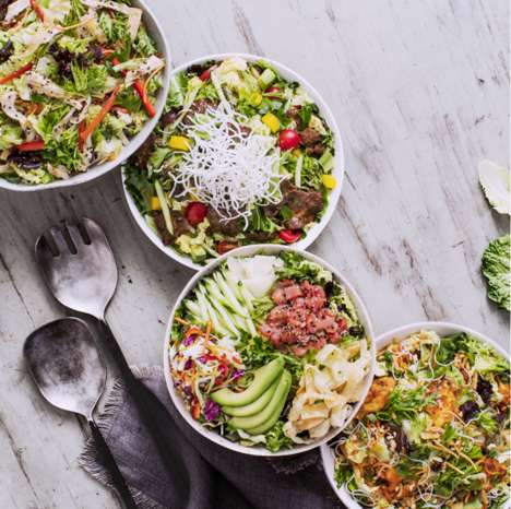 Nutritious Fast Casual Salads - Pei Wei's New Asian-Inspired Salads are a Healthy Dinner Option