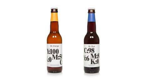 Cryptic Beer Labels