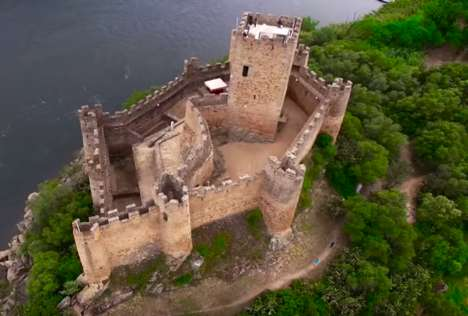 Aerial Castle Drone Videos