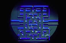 Microscopic Arcade Games - This Scientific Game Makes Micro-Organisms Go Through a Pac-Man Maze