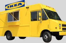 Furniture Brand Food Trucks - The #TogetherWeEat Campaign Has a Truck That Serves Food from IKEA