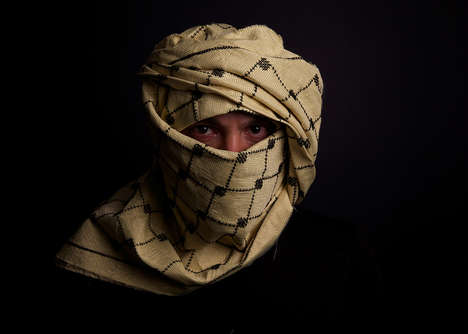 Bullet-Resistant Scarves - These Traditional Headdresses Make a Political Statement