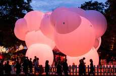 Inflatable Bubble Pavilions