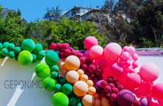 Pop-Up Balloon Decor - These Balloon Installations Can Be Used as a Colorful Marketing Tool
