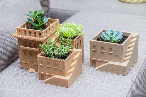 Architectural Succulent Planters