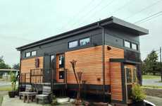 Tiny Prefabricated Houses - This Eco-Friendly Home Can Be Set Up Quickly