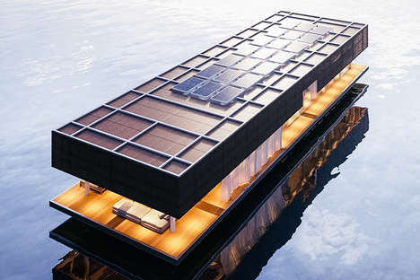 Floating Rectangular Abodes