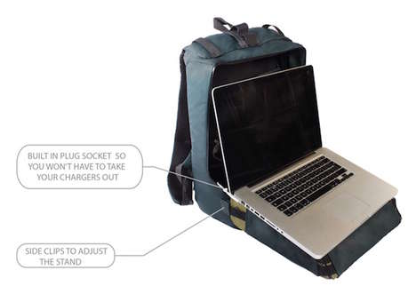 Portable Backpack Workstations - The DTC Box is an Anti-Theft Mobile Office For Freelancers