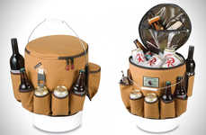 Comprehensive Beer Coolers - The Dakine Party Bucket is Designed for Carrying Any Party Accessory