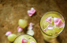 Thorny Elderflower Cocktails - This Seasonal Champagne Drink is Infused with Prickly Gooseberries