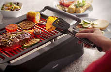 Smokeless Indoor Grills - The Philips Infrared Indoor Grill Brings the BBQ into the Kitchen