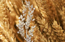 Wheat-Inspired Jewelry