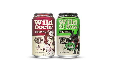 Flavorful Alcoholic Sodas - WG Brewing's Boozy New Soft Drinks Provide an Alternative to Beer