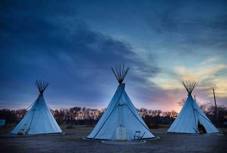 Communal Campground Retreats