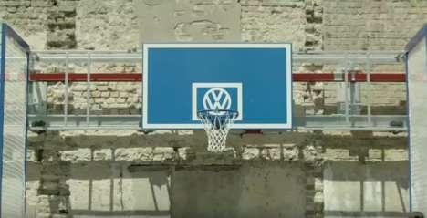 Mobile Basketball Hoops