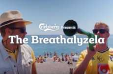 Breathalyzer Noisemakers - This Vuvuzela by Carlsberg Works When Alcohol is Consumed Responsibly