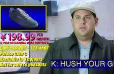 Awkward Sneaker Commercials - Jonah Hill Pretends to Be an Awful Spokesperson in a Reebok Commercial