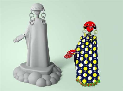 Whimsical 3D-Printed Figurines