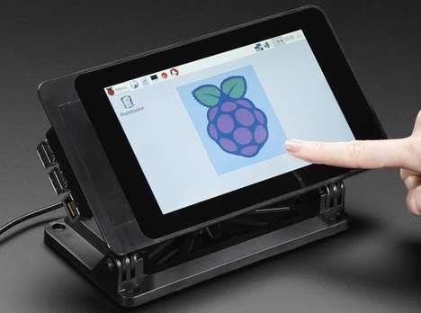 Touchscreen Mini PC Cases