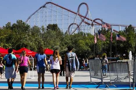Celebratory Theme Park Promotions