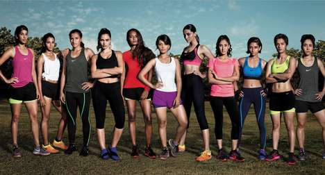 Athletic Female Empowerment Ads