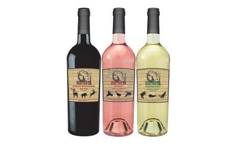 Wildlife-Inspired Wines