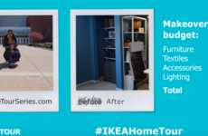 Rejuvenated Home Office Ads - This IKEA Home Tour Video Features a Comprehensive Makeover