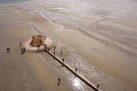 Floating Seasonal Observatories