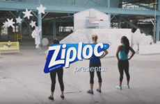 Obstacle Course Motherhood Ads - Ziploc's 'Tough Mother' Ad Replicates the Challenges of Being a Mom