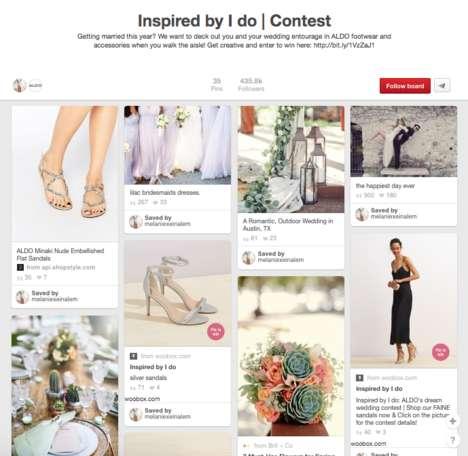 Bridal Footwear Pinboards