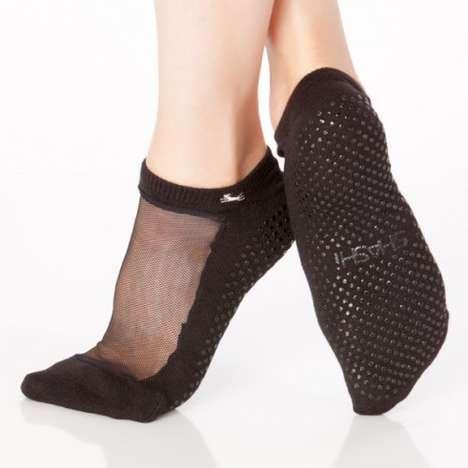 Cut-Out Pilates Socks
