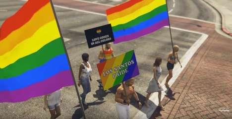 Pride-Inclusive Action Games