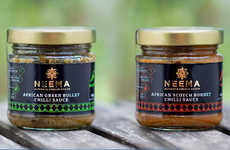 Authentic African Condiments - These Flavorful African Sauces are Made from All-Natural Ingredients