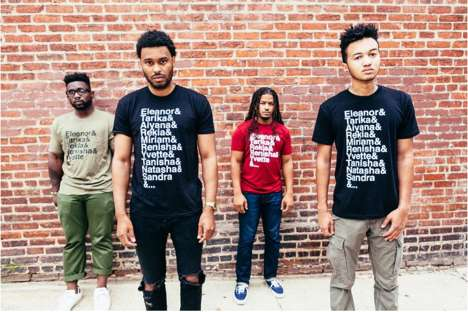 Social Activism T-Shirts - The 'And Counting' T-Shirts by GLOSSRAGS Protest Against Racial Injustice