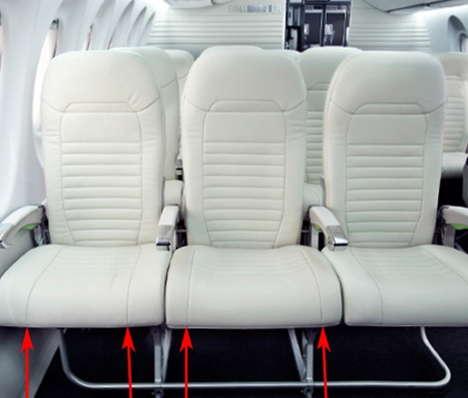 Spacious Airplane Seats