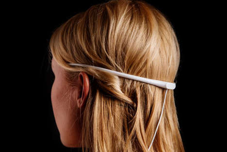 Smart Meditative Headbands - 'Elf mmmit' is a Smart Wearable Device That Relieves Stress as Its Worn