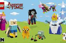 Cartoon Network LEGOs - The Adventure Time LEGO Set Pays Tribute to the Animated Show