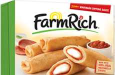 Frozen Pizza Roll-Ups - Farm Rich's Pepperoni Pizza Roll-Ups are a Convenient, Kid-Friendly Snack