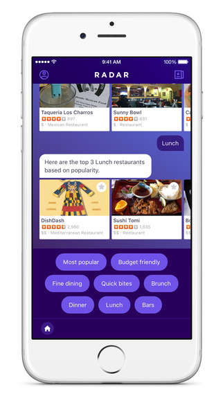 AI Travel Apps - The 'Radar' App from Yahoo Makes Smart Travel Recommendations