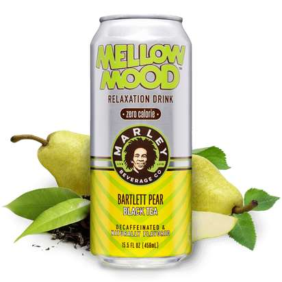 Decaffeinated Tea Cans - Mellow Mood's Relaxation Drinks Naturally Calm the Body and Mind