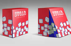Shaken Sugar Cube Packaging