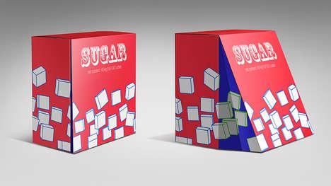 Shaken Sugar Cube Packaging