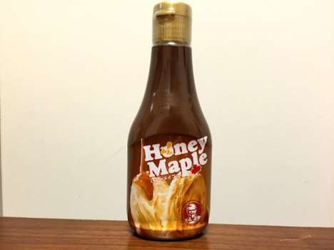Bottled Fast Food Sauces - KFC is Now Selling Its Honey Maple Sauce by the Bottle