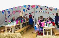 Complimentery Festival Breakfasts - Dorset Cereals Created a 'Breakfast Extravaganza' at a Festival